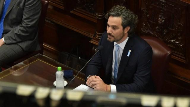El jefe de Gabinete criticó la gestión macrista (Franco Fafasuli)