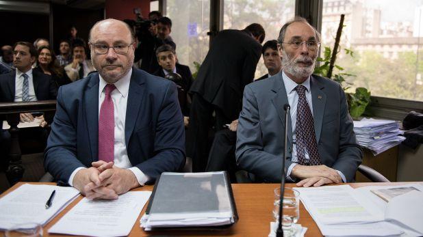 Los fiscales Piedecasas y Tonelli, acusadores en el jury contra Freiler (Adrián Escandar)
