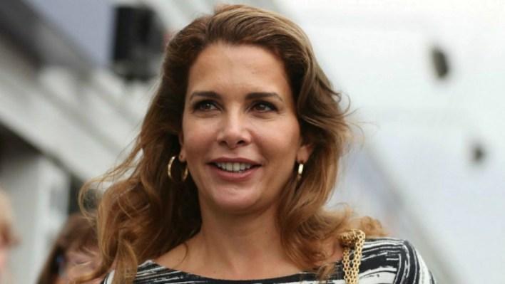 Haya Bin Hussein huyó de Dubái en junio de este año y luego solicitó el divorcio del jeque (AFP)