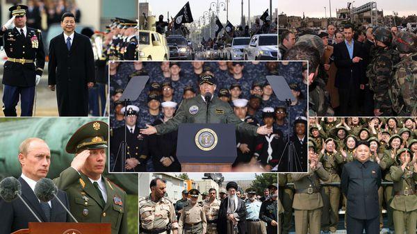 Los principales frentes de conflicto militar de Estados Unidos