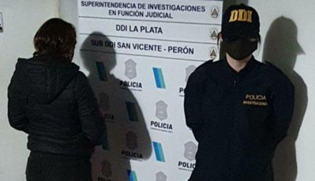 La mujer detenida por vender un terreno en la toma de Guernica.