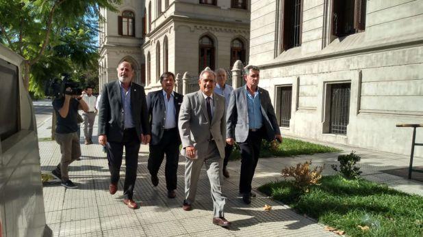Los integrantes de la Mesa de Enlace se pronunciaron también en contra de la Ley de Manejo del Fuego