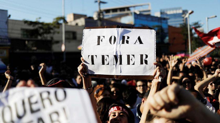 Grupos de izquierda se oponen a la reforma de jubilaciones(REUTERS/Nacho Doce)