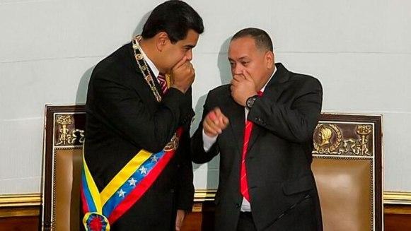 El gobierno de Guaidó denunciará los vínculos de la dictadura de Maduro con grupos terroristas (EFE)