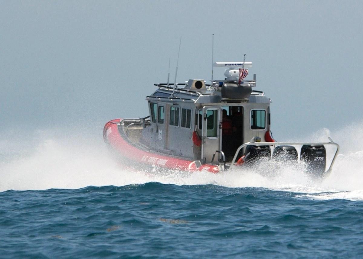 EEUU interceptó una embarcación al sur de Florida con 27 cubanos a bordo