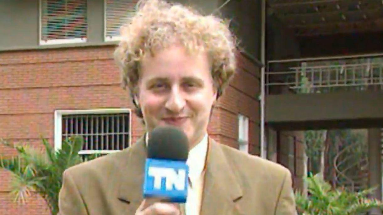 Sergio Gendler, en sus comienzos