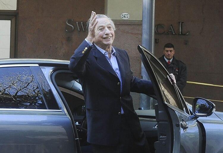 Para Duhalde, Franco Macri es un ejemplo de empresarios que trabajaron por el crecimiento de la Argentina (Foto de archivo: Télam)
