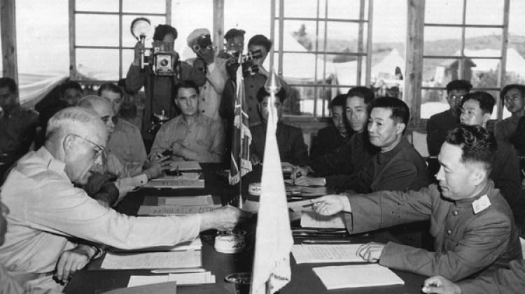 La Guerra de Corea concluyó con un armisticio en 1953