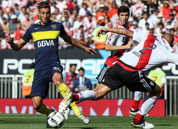 Betancur jugó 66 partidos en la Primera de Boca y ganó tres títulos en el Xeneize (Foto Baires)