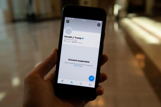 La cuenta de Twitter del presidente Trump fue suspendida por la compañía
