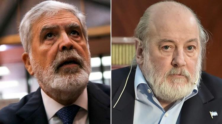 El ex ministro de Planificación Julio de Vido, y el juez Claudio Bonadio