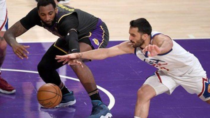 Facu logró un nuevo récord en robos con 5 ante los Lakers (Jayne Kamin-Oncea-USA TODAY Sports)