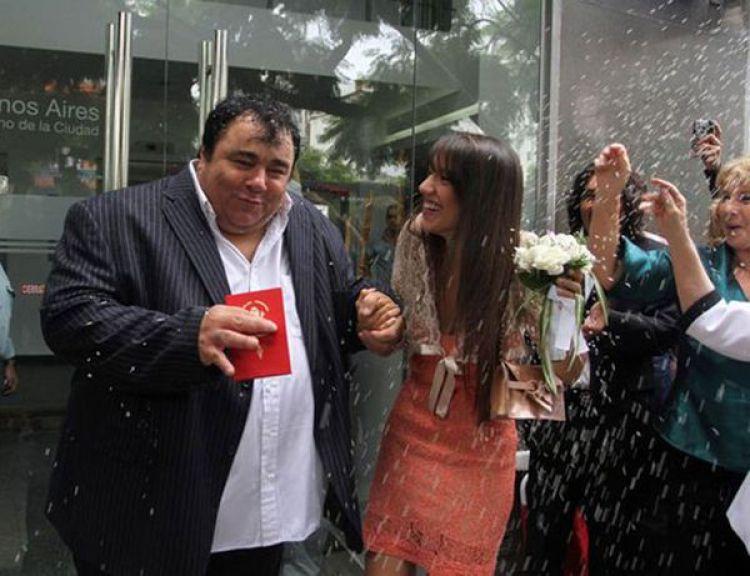 El Casamiento por civil de La Tota Santillán y su ex mujer, Sol Fiasche