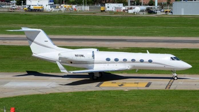 El avión privado que usaba Balcedo para viajar a Uruguay (JetPhotos)