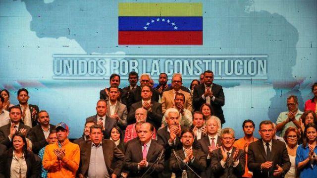 Mesa de Unidad Democrática (EFE