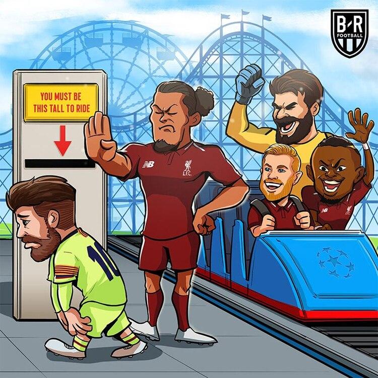 Lionel Messi, eliminado por el Liverpool de la Champions League