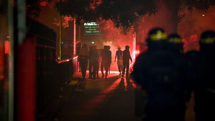 Incidentes en París tras la derrota del PSG en la Champions League