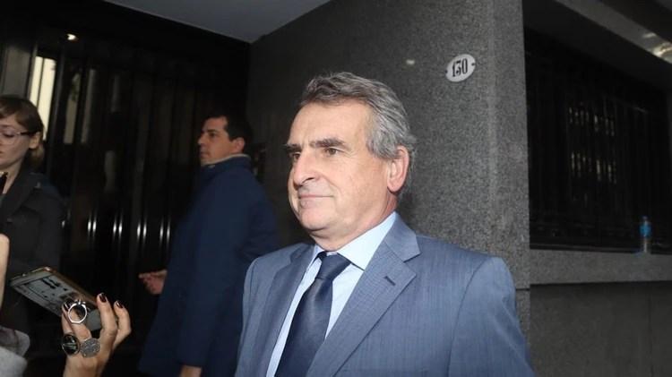 El legislador Agustín Rossi forma parte del encuentro en el PJ (Matías Baglietto)