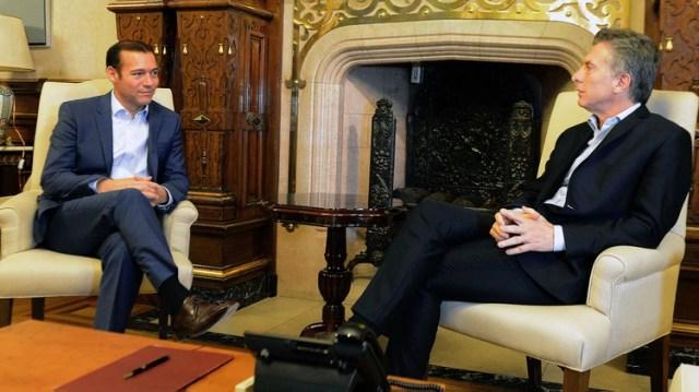 El presidente Macri y el gobernador Gutiérrez tienen miradas similares sobre la economía y la explotación minera en Vaca Muerta (Télam)