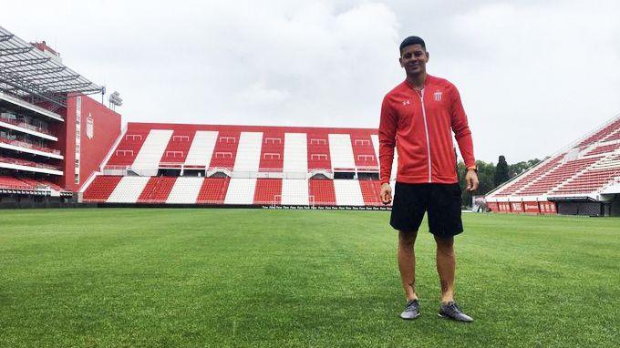 Marcos Rojo firmó a préstamo por un semestre con Estudiantes pero jugó pocos minutos