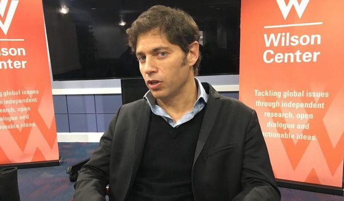 El ex ministro de Economía de la Argentina, Axel Kicillof