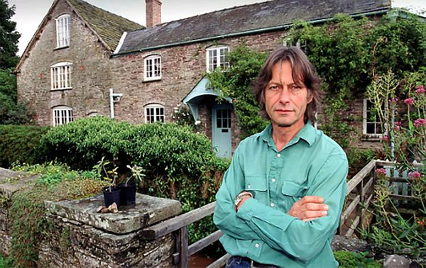 Bruce Robinson, experto en el caso que investigó durante más de 20 años la autenticidad del presunto diario del asesino (Telegraph/Christopher Jones)