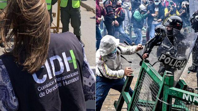 Agenda de lo que será la visita de la CIDH a Colombia, para observar los hechos de las protestas.