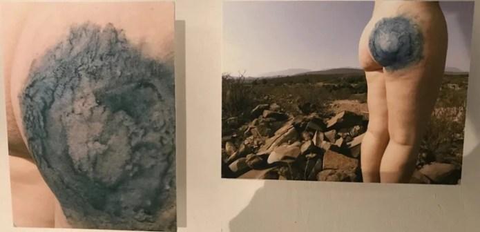 La fotógrafa dijo que su obra pretendía comunicar conceptos como identidad, la memoria, el arraigo el cuerpo y el territorio Foto: Facebook