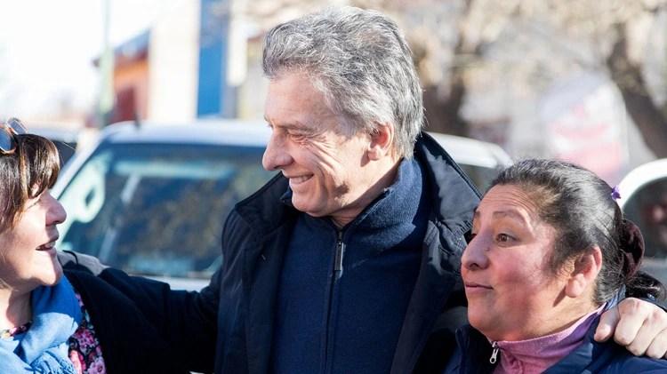 Mauricio Macri en Mendoza, antes de inaugurar la Ruta 40 con Alfredo Cornejo