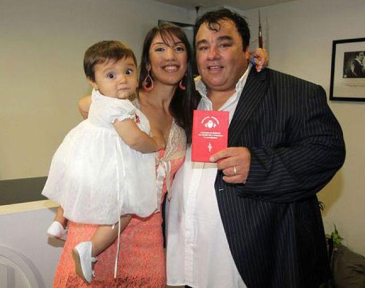 La Tota Santillán junto a su ex, Sol Fiasche y su pequeña Mia