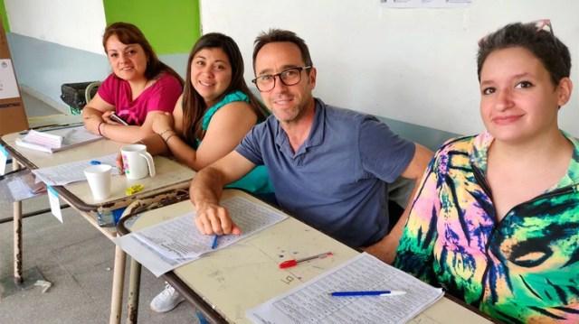 El empresario fiscalizó para Cambiemos en la elecciones generales del año pasado (@marcos_galperin)