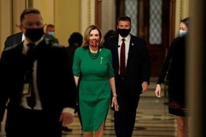 La líder demócrata en la Cámara de Representantes, Nancy Pelosi. REUTERS/Ken Cedeno/File Photo