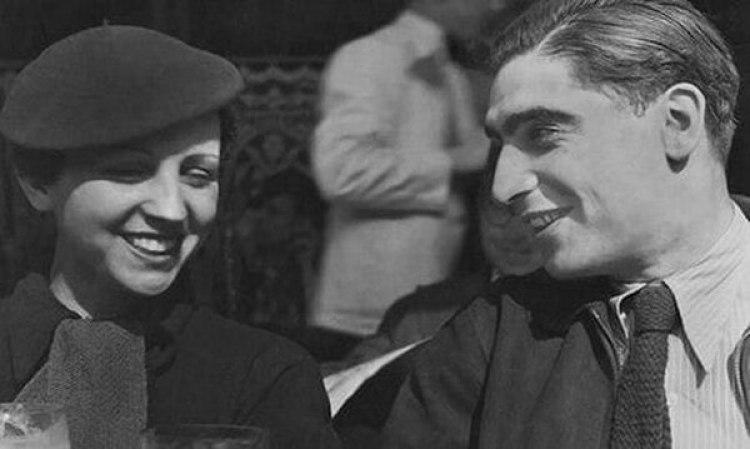 Gerda Taro y Endre Ernő Friedmann