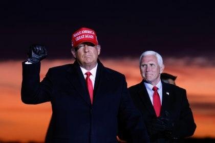 Trump y Pence, la fórmula que va por la reelección (Reuters)