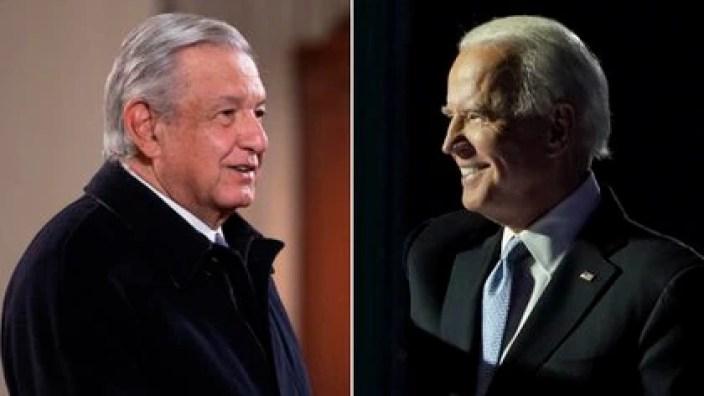 AMLO ya tuvo su primera llamada con Joe Biden (Fotos: Presidencia de México - Reuters.)