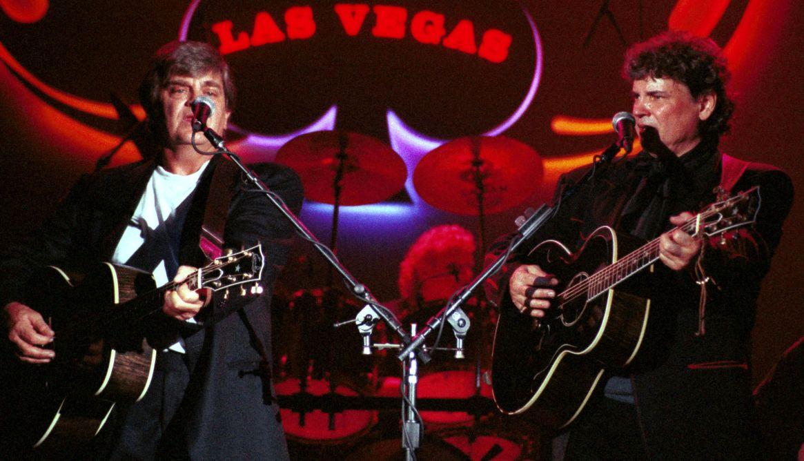 Los Everly Brothers volvieron a reunirse en 1997 (Shutterstock)