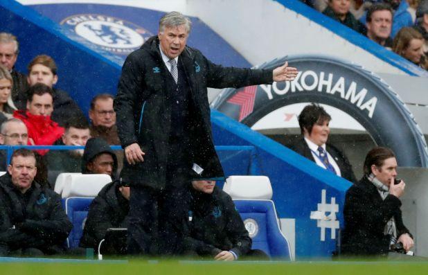 Carlo Ancelotti, director técnico del Everton (Reuters/Matthew Childs)