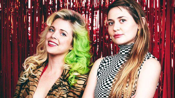 Penelope Gazin y Kate Dwyer, fundadoras de Witchsy