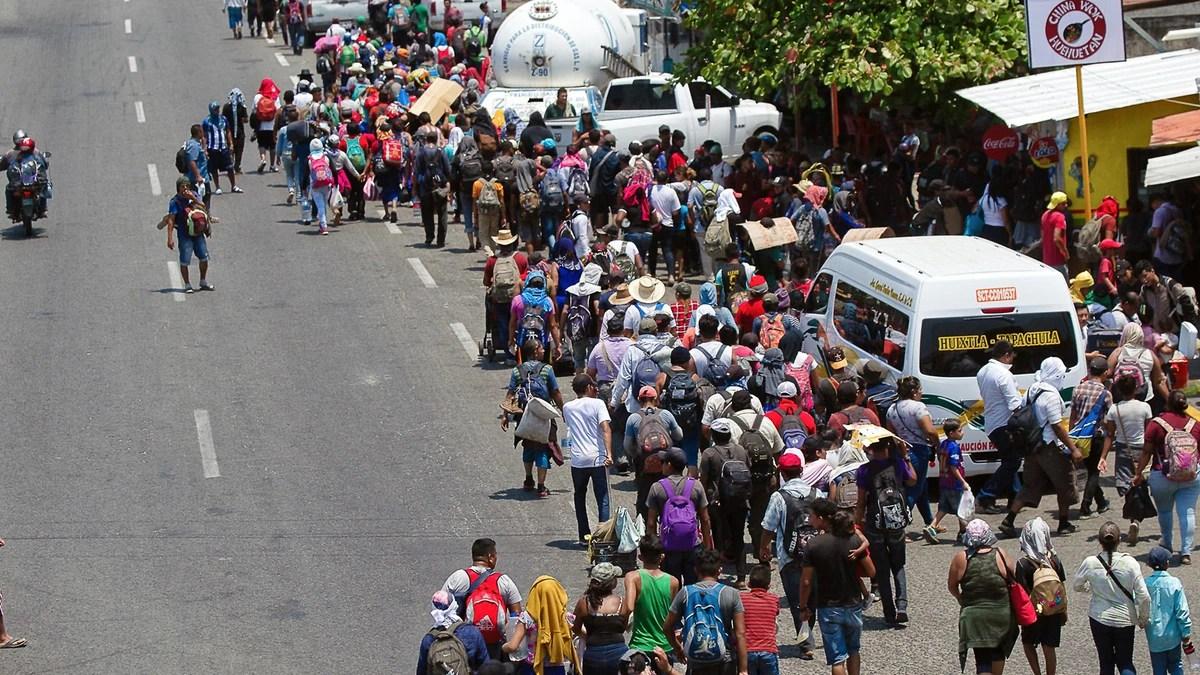 Lanzaron una campaña para que migrantes que atraviesan por México se regularicen