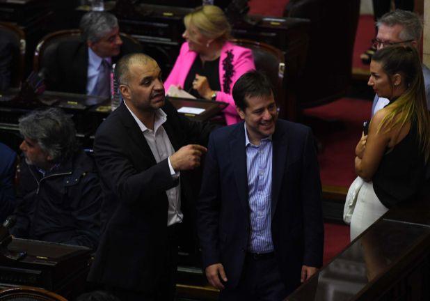 El senador Mariano Recalde
