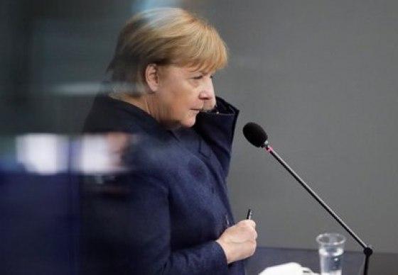 Angela Merkel.  REUTERS / Hannibal Hanschke