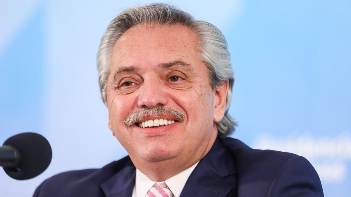 Alberto Fernández- anuncio vacuna