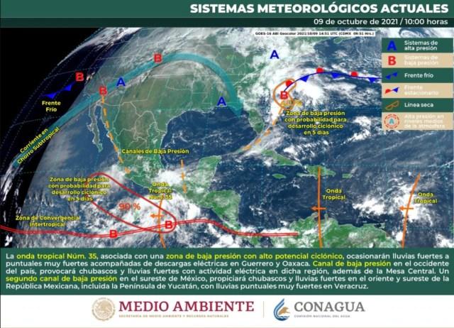 clima mexico 9 de octubre 3