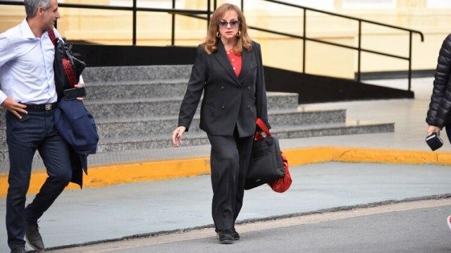 Exministra de Defensa, Nilda Garré. No fue citada a declarar en la comisión bicameral que investiga el hundimiento del ARA San Juan. (Joaquin García Conde)
