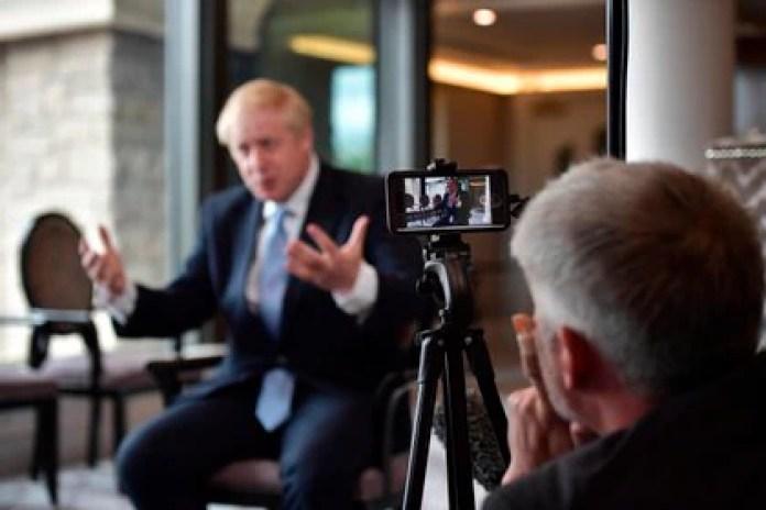 British Prime Minister Boris Johnson.  EPA / CHARLES MCQUILLAN / POOL / Archive