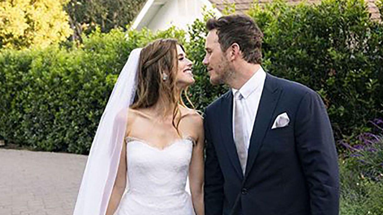 Chris Pratt y Katherine Schwarzenegger se casaron el sábado 8 de junio (Foto: Archivo)