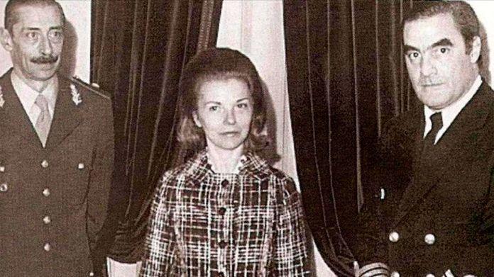 Isabel Peron- internacion noviembre de 1975- Maria Estela Martinez de Perón internada
