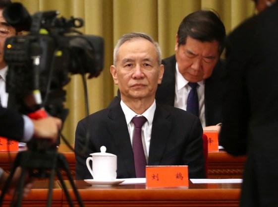 El vicepremier Liu He (AP Photo/Mark Schiefelbein)