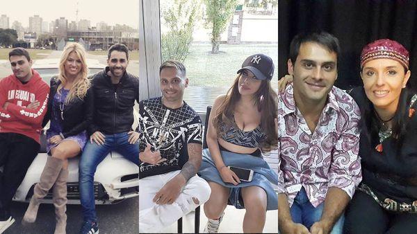 Las fotos de las figuras del espectáculo con el acusado de manejar a más de 240 km/h en la Ciudad