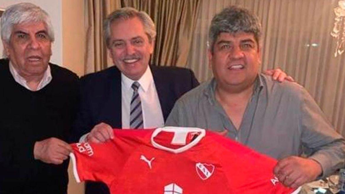 Antes de ganar las últimas elecciones, Alberto Fernández visitó a Hugo Moyano.